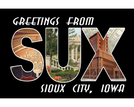 Greetings from SUX Post Card