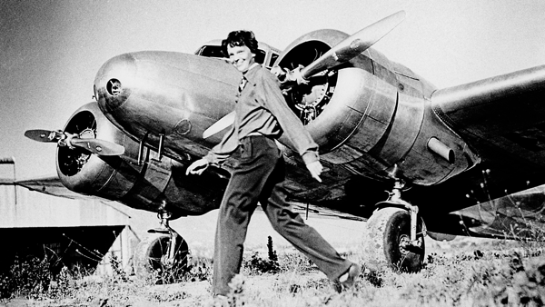 APG 124 – Amelia Earhart Circumnavigation, Harrier Lands without Nose Gear