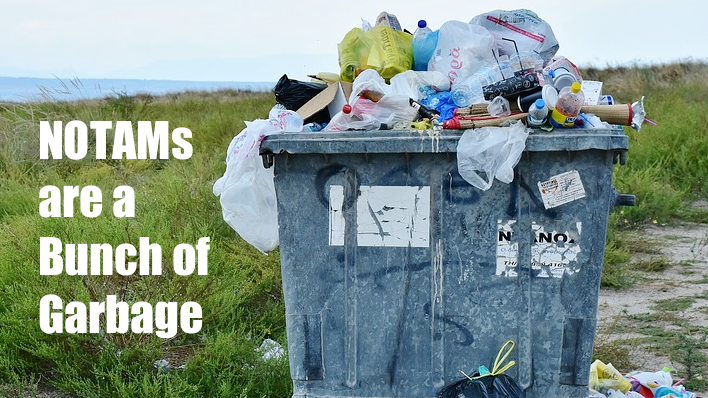 APG 342 – NOTAMs are a Bunch of Garbage